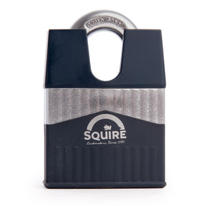 Henry Squire WARRIOR-65CS Closed Shackle Armoured Steel Padlock 65mm