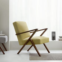 Lemon Retrostar Chair Velvet Line | Bombinate