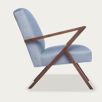 Ice Grey Retrostar Chair Velvet Line | Bombinate