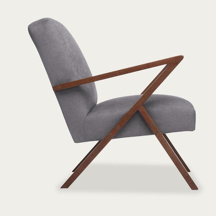 Grey Retrostar Chair Classic Line  | Bombinate
