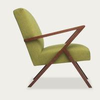 Mustard-Green Retrostar Chair Classic Line   Bombinate