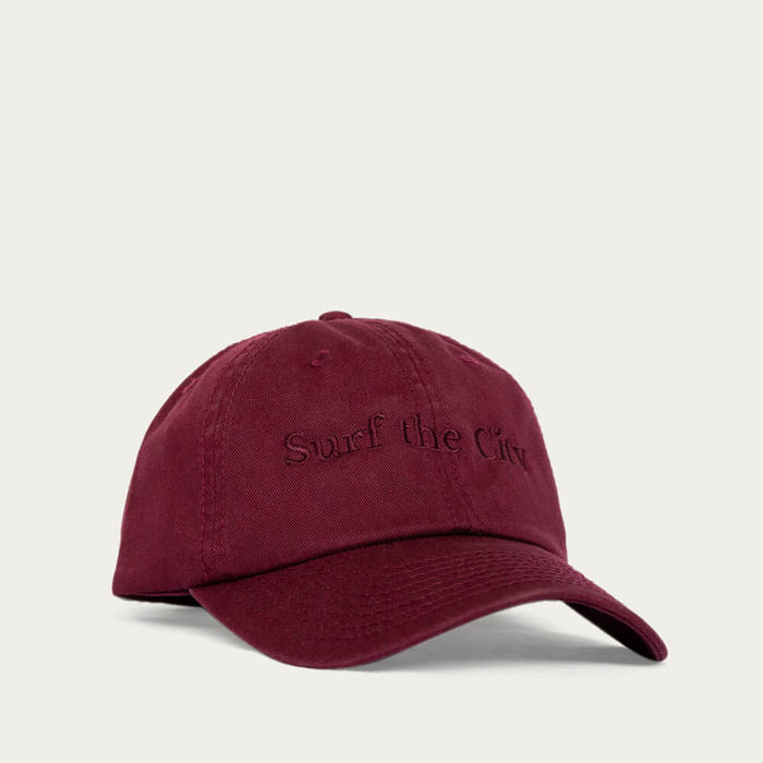 Bordeaux Dad Hat | Bombinate