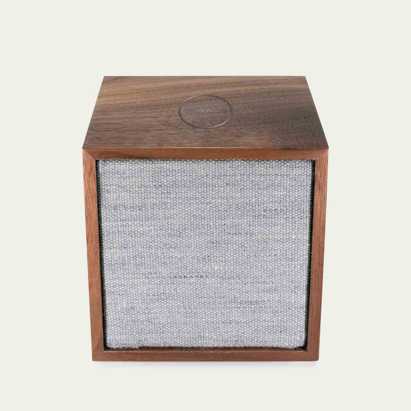 Walnut / Grey ART Line CUBE Tivoli Audio  | Bombinate