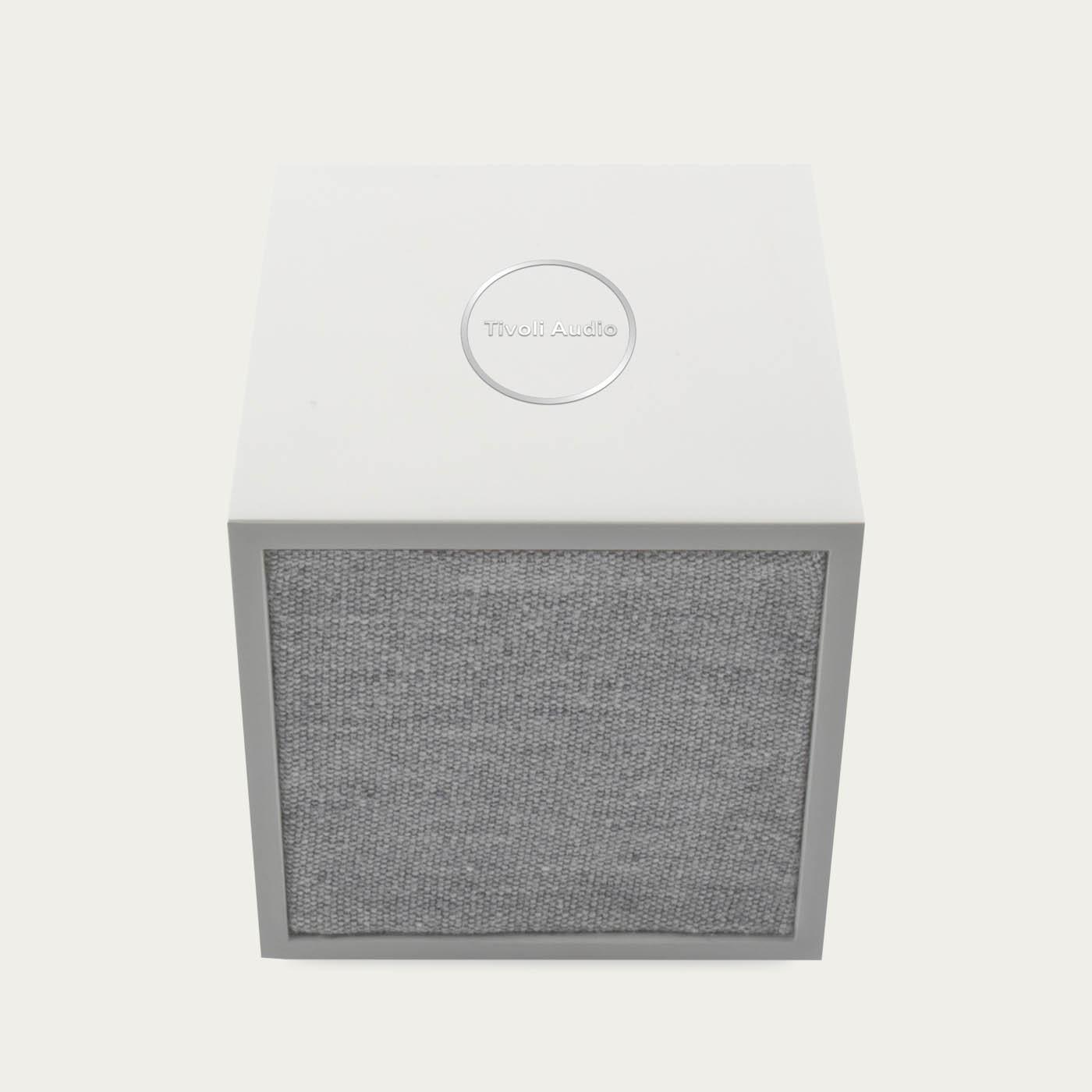White / Grey ART Line CUBE  Tivoli Audio  | Bombinate
