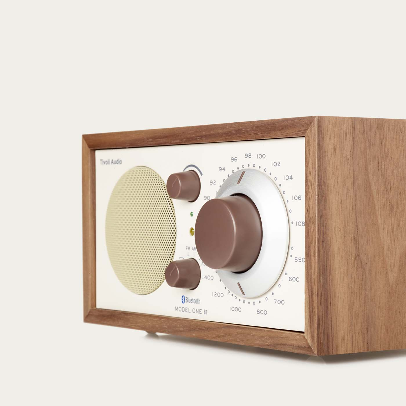 Walnut / Beige Model One BT Tivoli Audio  | Bombinate
