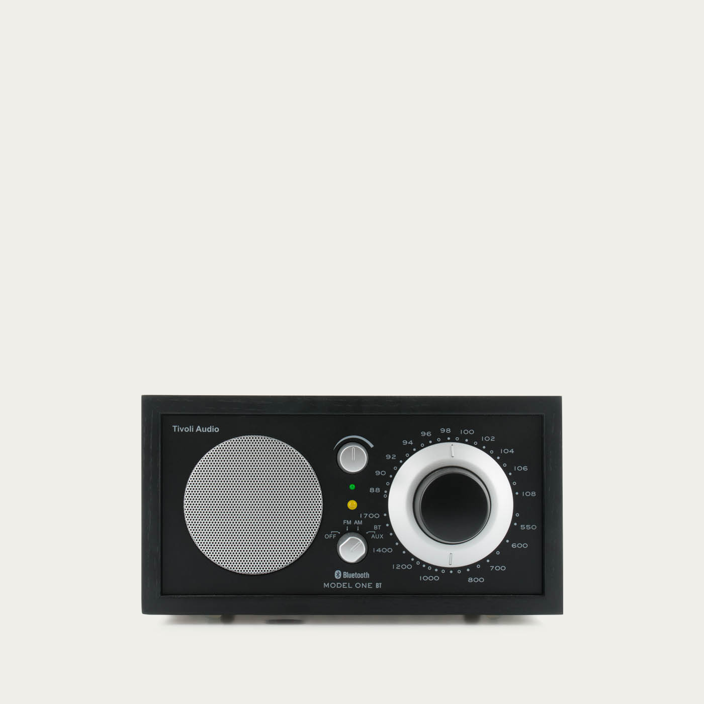 Tivoli Audio Model One BT - Black Ash / Black-Silver | Bombinate