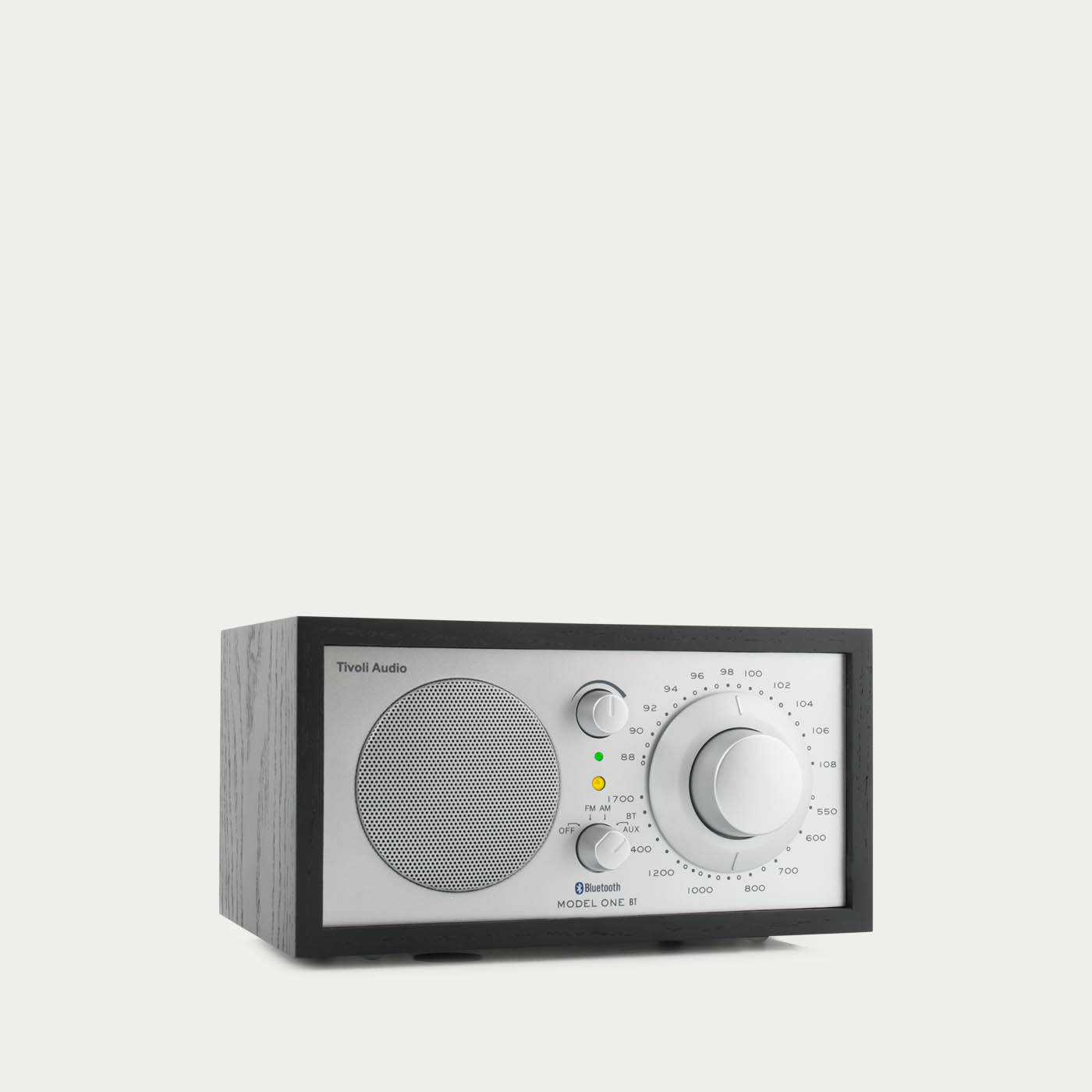 Black Ash / Silver Model One BT Tivoli Audio  | Bombinate