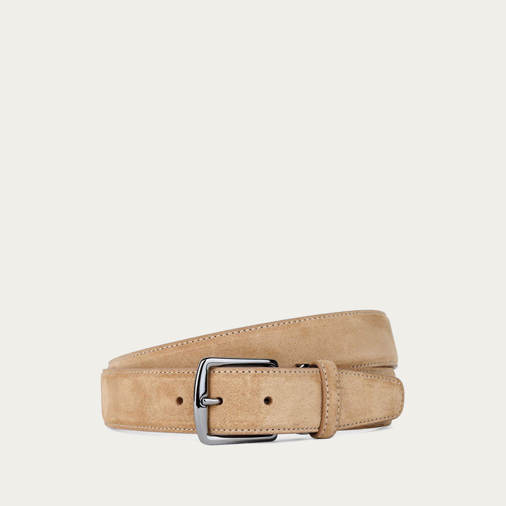 Ambra Suede Leather Belt | Bombinate