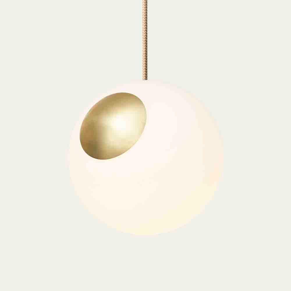 Crema Cable Bright Spot Brass  | Bombinate