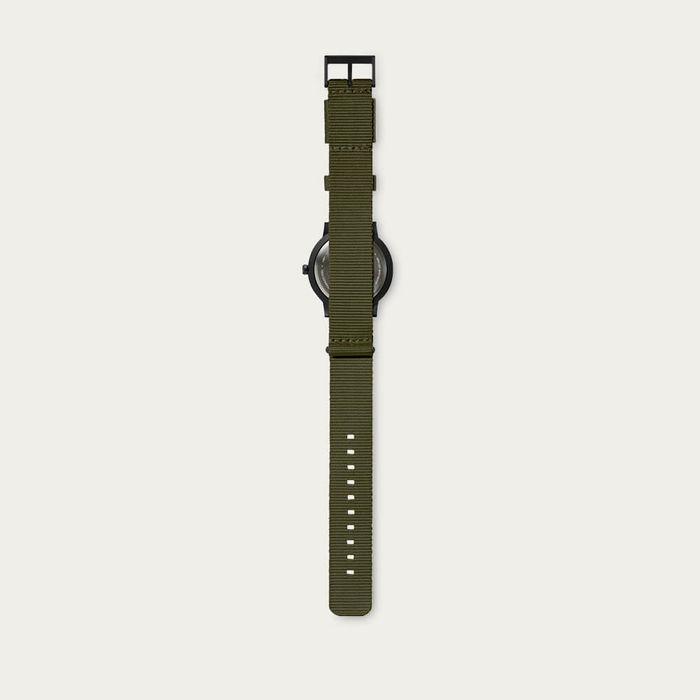 Black / Green Nato Strap Tube Watch T Series | Bombinate