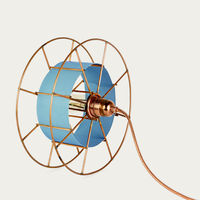 Blue Spool Classic Floor Lamp | Bombinate