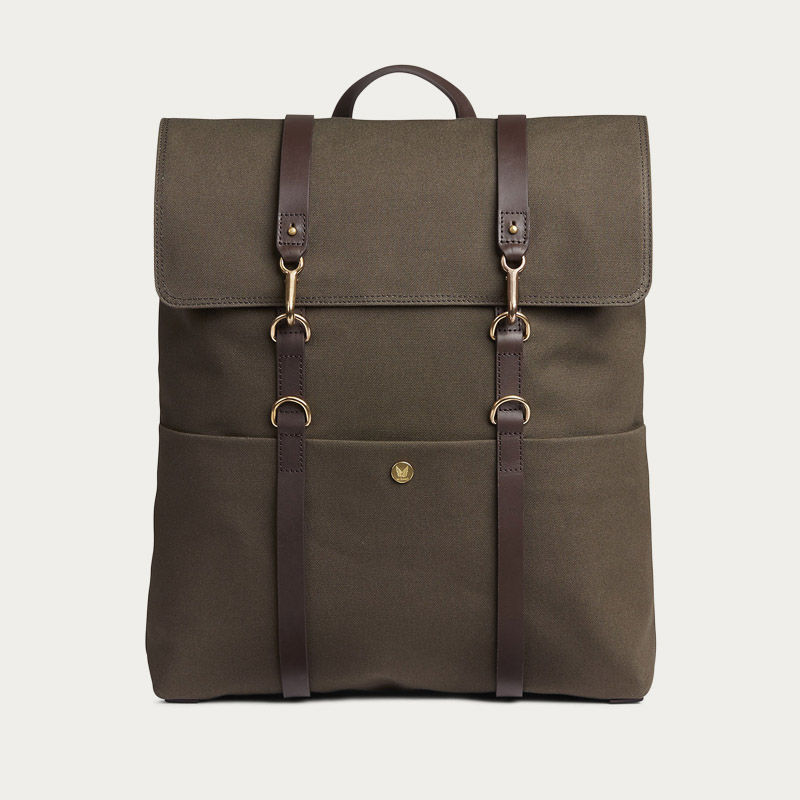 Khaki/Black M/S Backpack | Bombinate