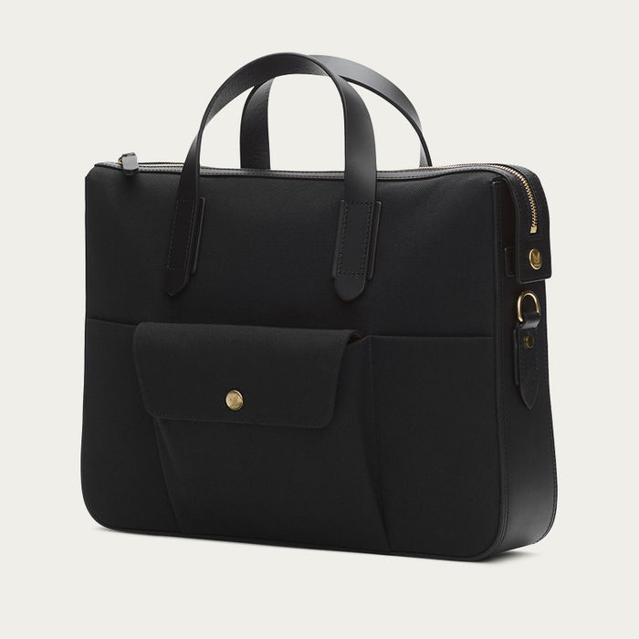 Coal/Black M/S Briefcase | Bombinate