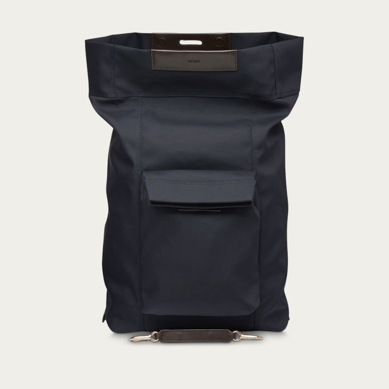 Navy and Moonlight Blue/Dark Brown M/S Escape  | Bombinate