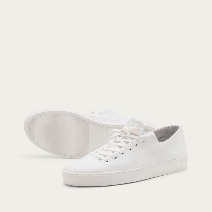 White Atom Sneakers | Bombinate