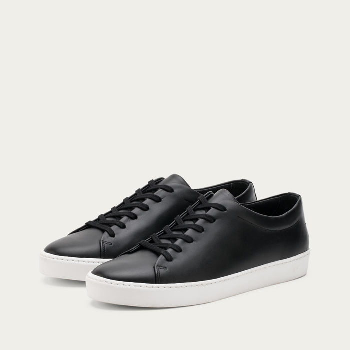 Black and White Royal Sneakers | Bombinate