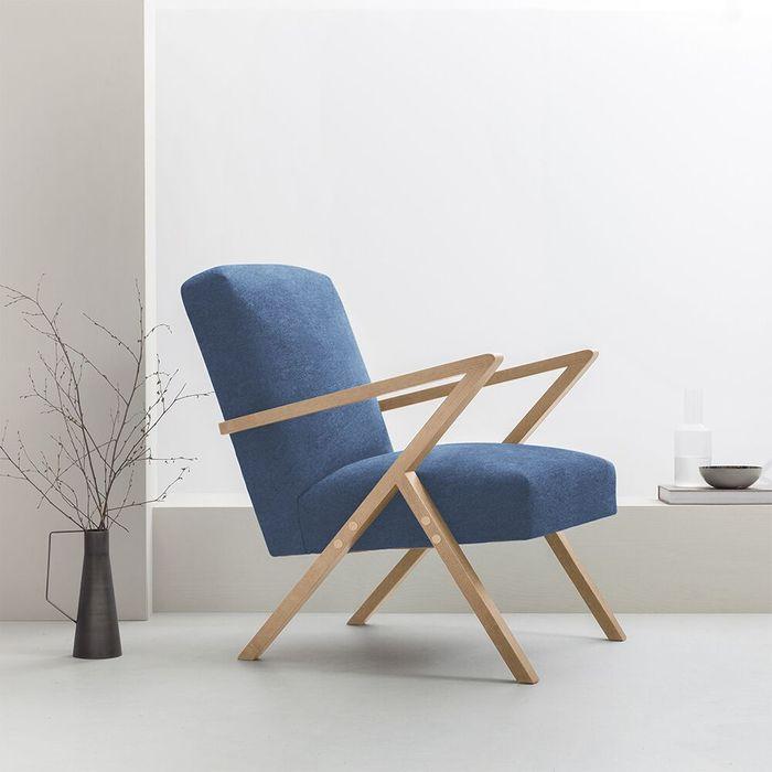 Blue Retrostar Chair – Bombinate Exclusive   Bombinate