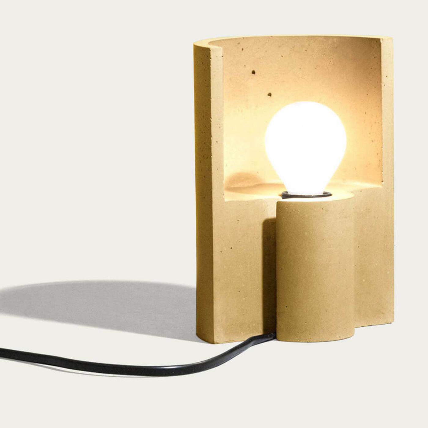 Yellow Esse Table Lamp   Bombinate