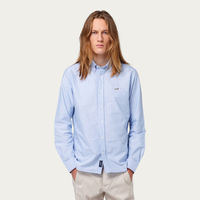 The Plain Light Blue Duck Button Down Shirt | Bombinate