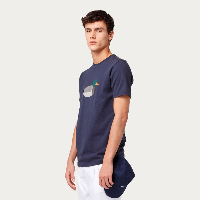 Plain Navy Duck Hunt Tee-shirt | Bombinate