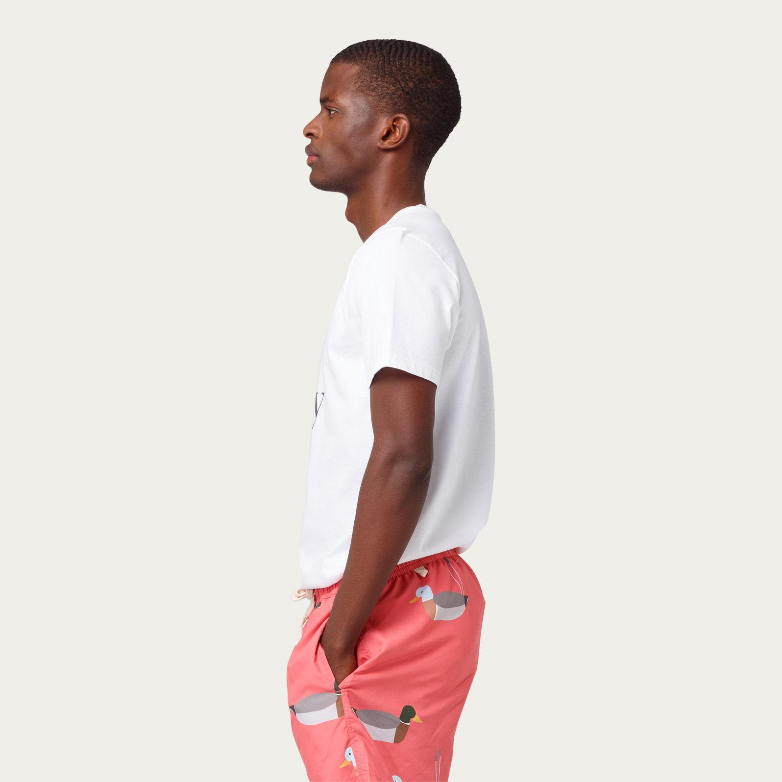 Plain White Surf City Tee-shirt   Bombinate