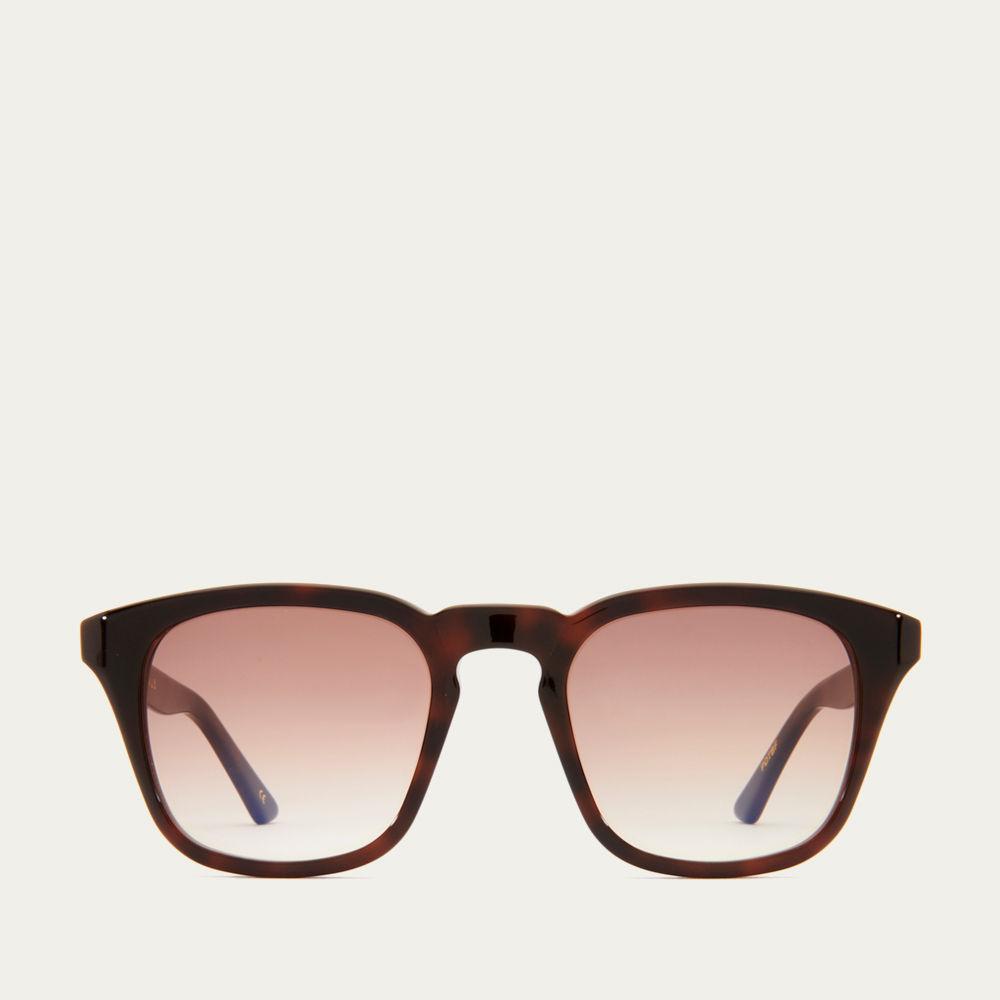 Dark Tortoiseshell and Brown Fade Parker Sunglasses | Bombinate