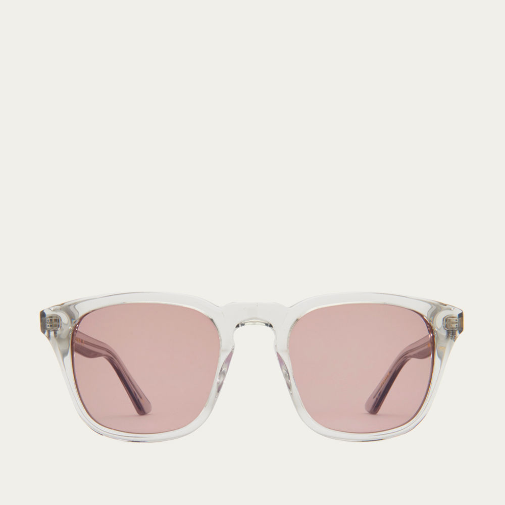 Smokey Grey and  Warm Brown Parker Sunglasses | Bombinate