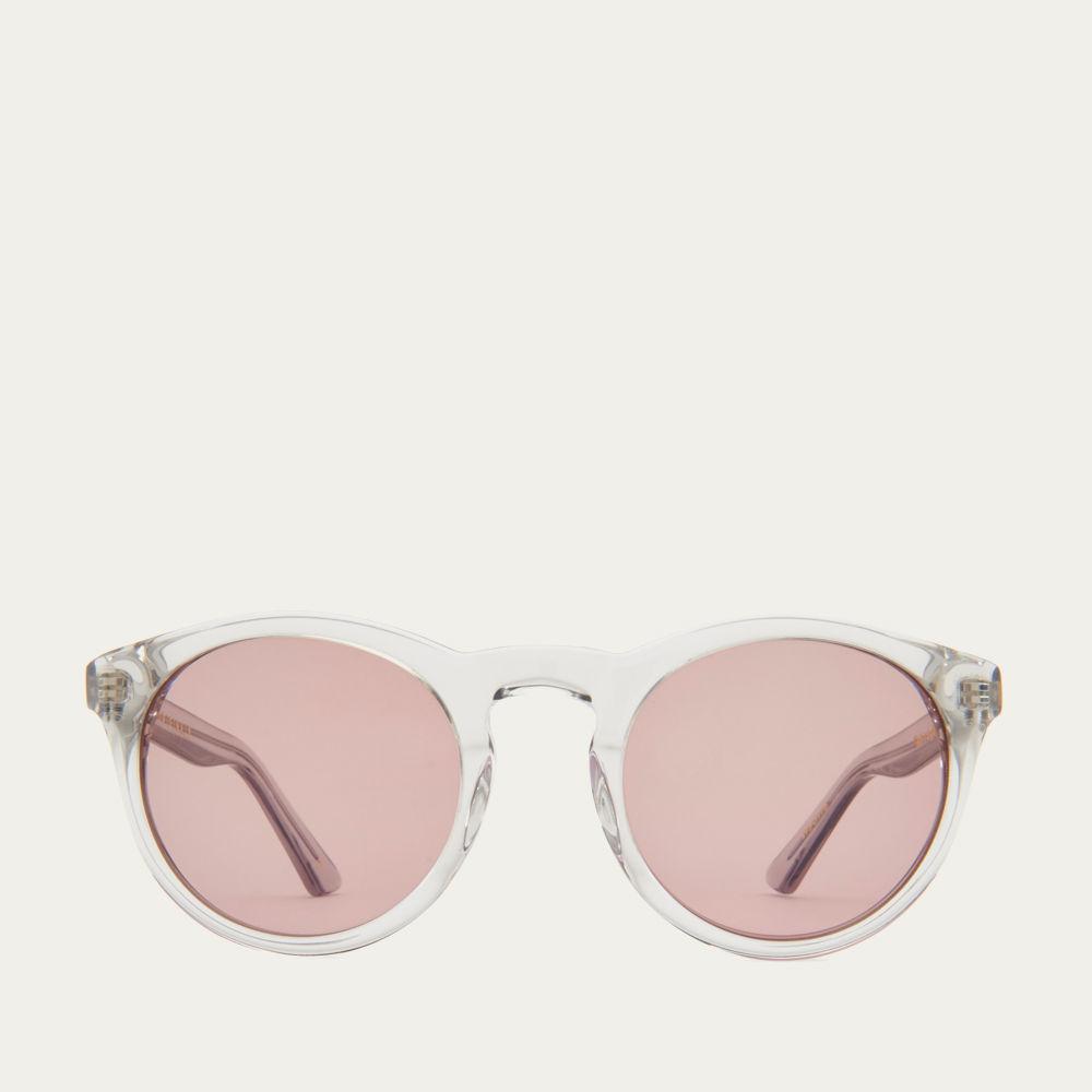 Smokey Grey and Warm Brown Watts Sunglasses   Bombinate