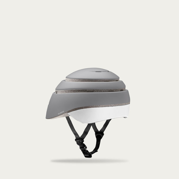 Fossil and White Loop Helmet  | Bombinate