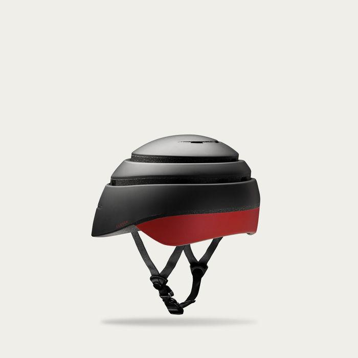 Graphite and Red Wine Loop Helmet | Bombinate