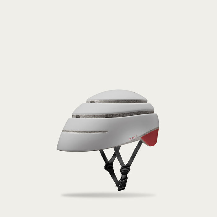 Pearl and Red Wine Loop Helmet | Bombinate