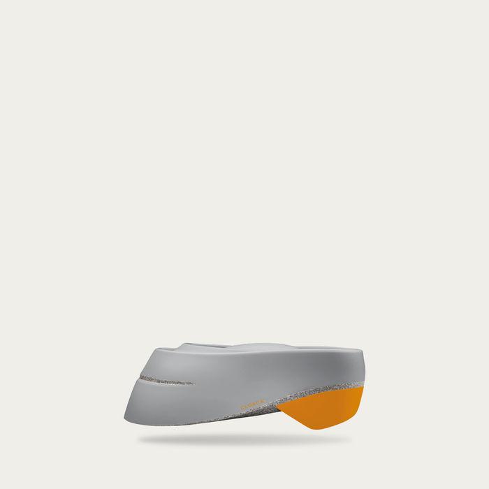 Pearl and Mustard Loop Helmet | Bombinate