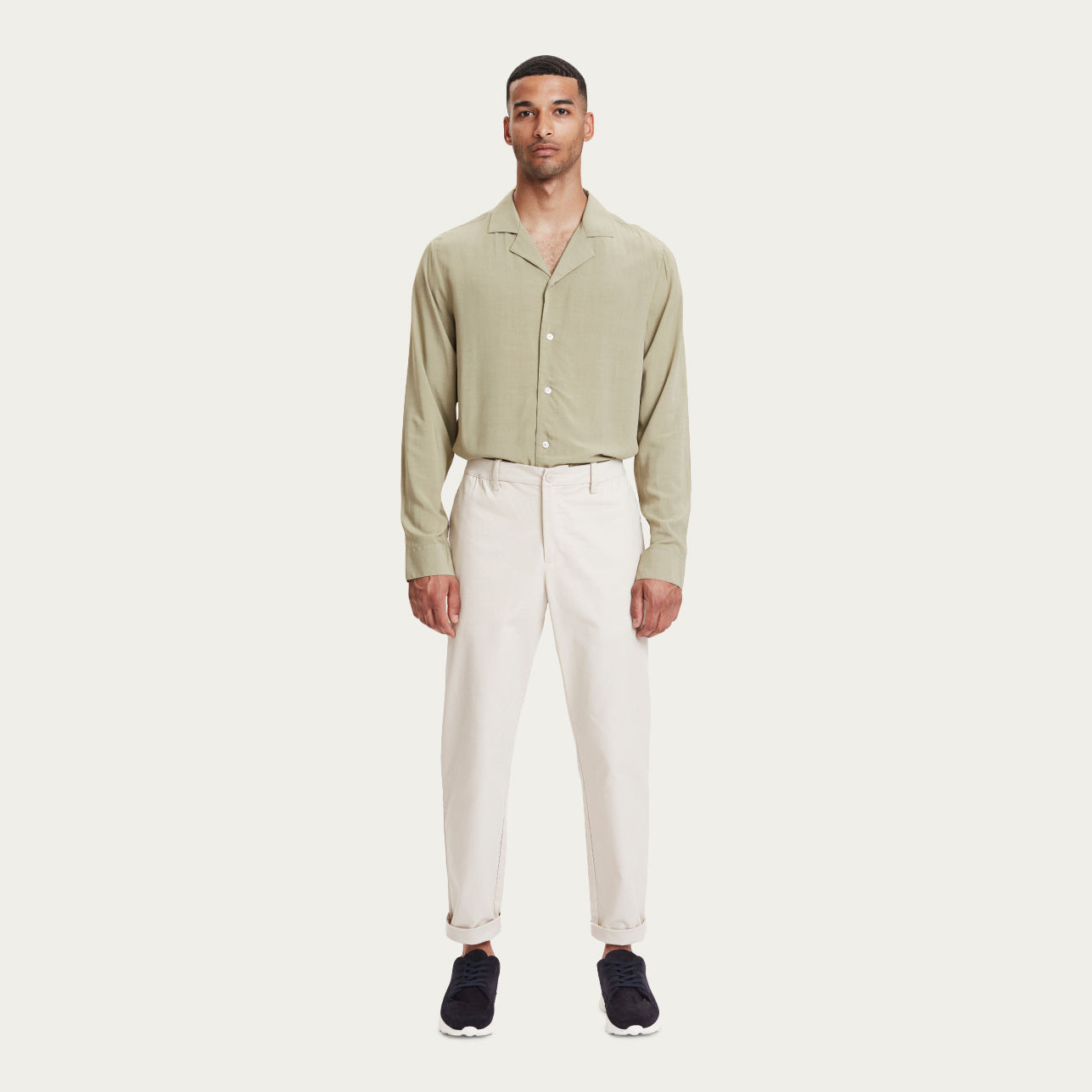 Ecru Century Trousers | Bombinate
