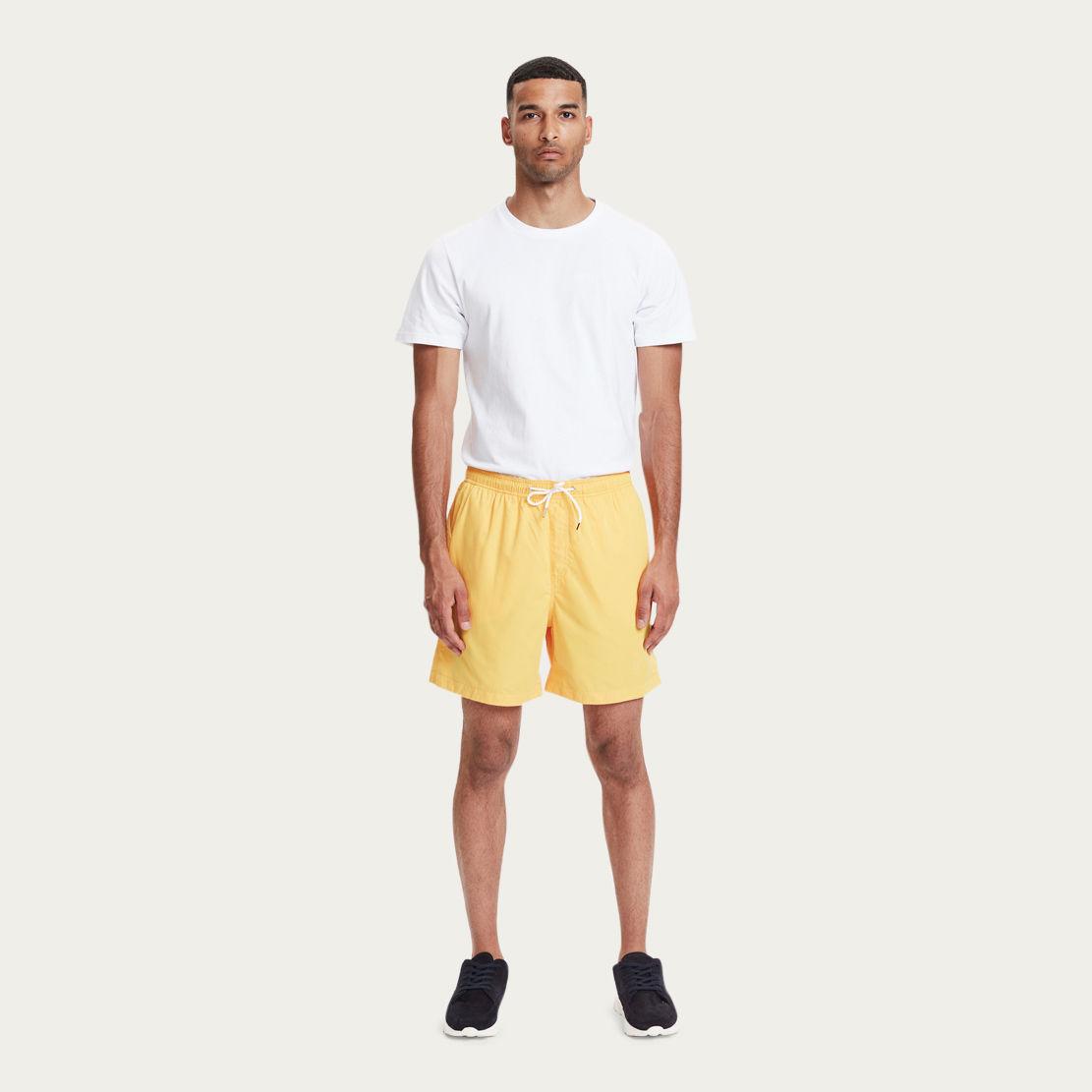 Sunflower Yellow Pool Shorts  | Bombinate