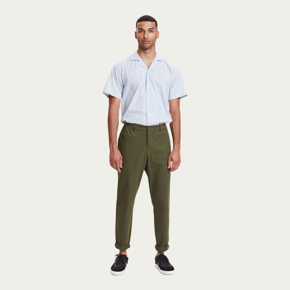 Olive Century Trousers | Bombinate