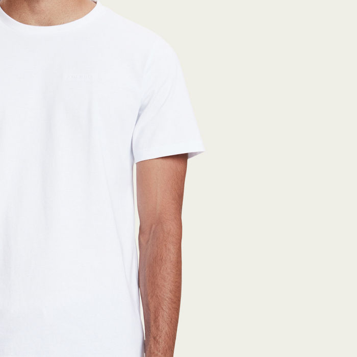 White Venice Embroided T-shirt    Bombinate