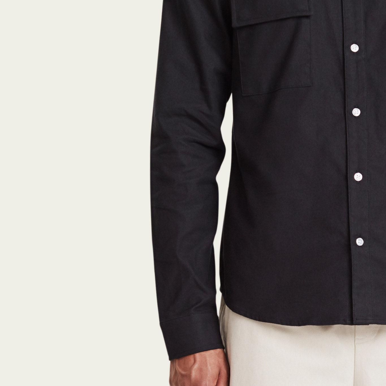 Black Amalfi Shirt | Bombinate