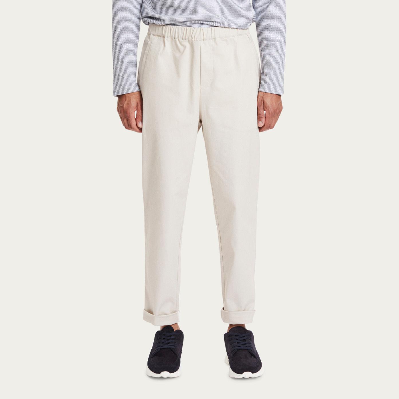 Ecru Hermosa Pants | Bombinate