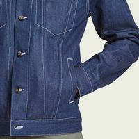 Indigo Denim Ponta Jacket | Bombinate