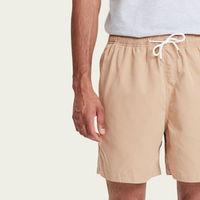 Beige Pool Shorts | Bombinate