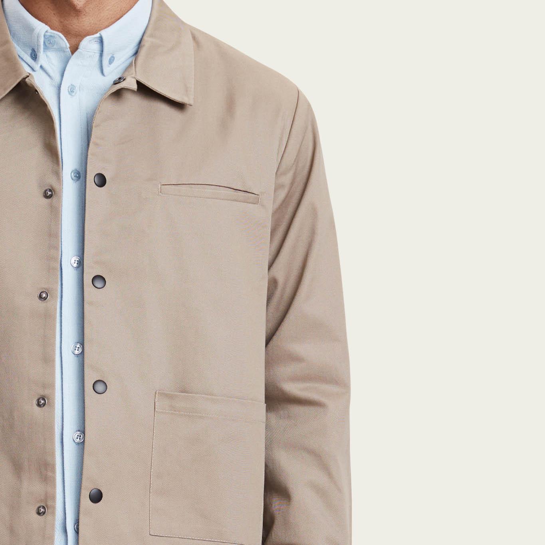 Khaki Lima Jacket  | Bombinate