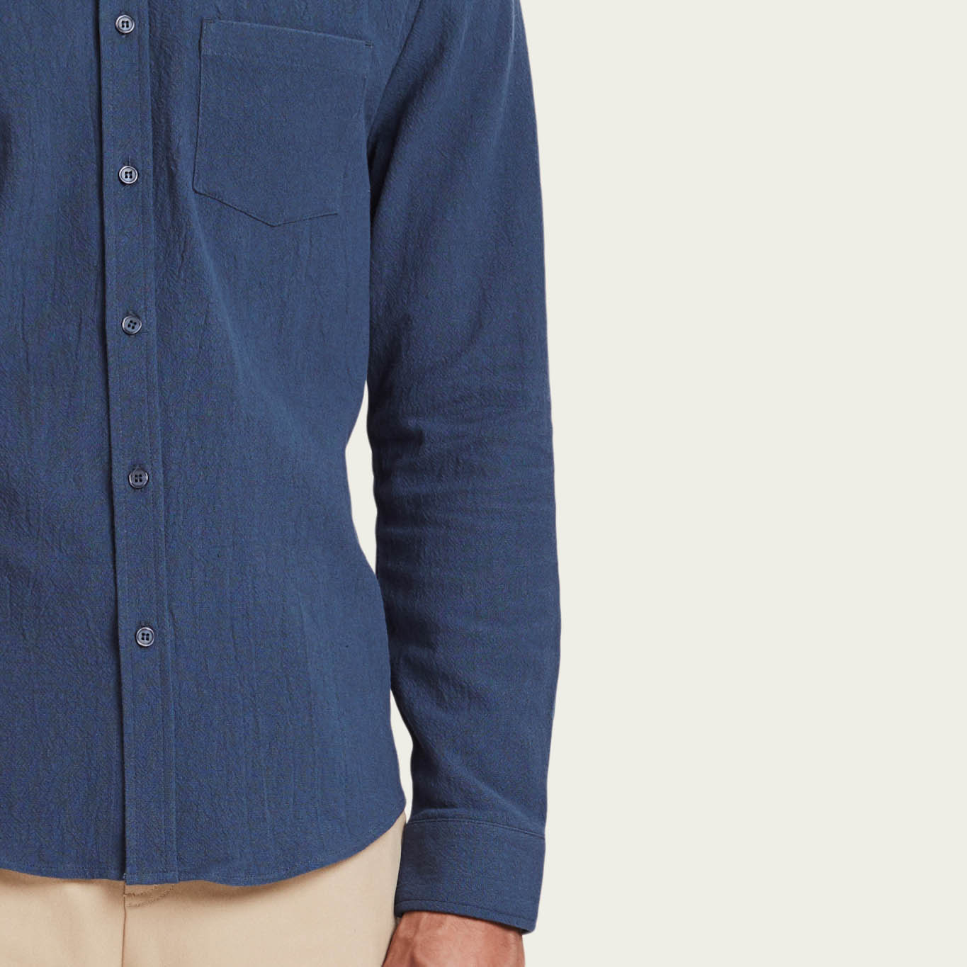 Navy Lagos Shirt | Bombinate