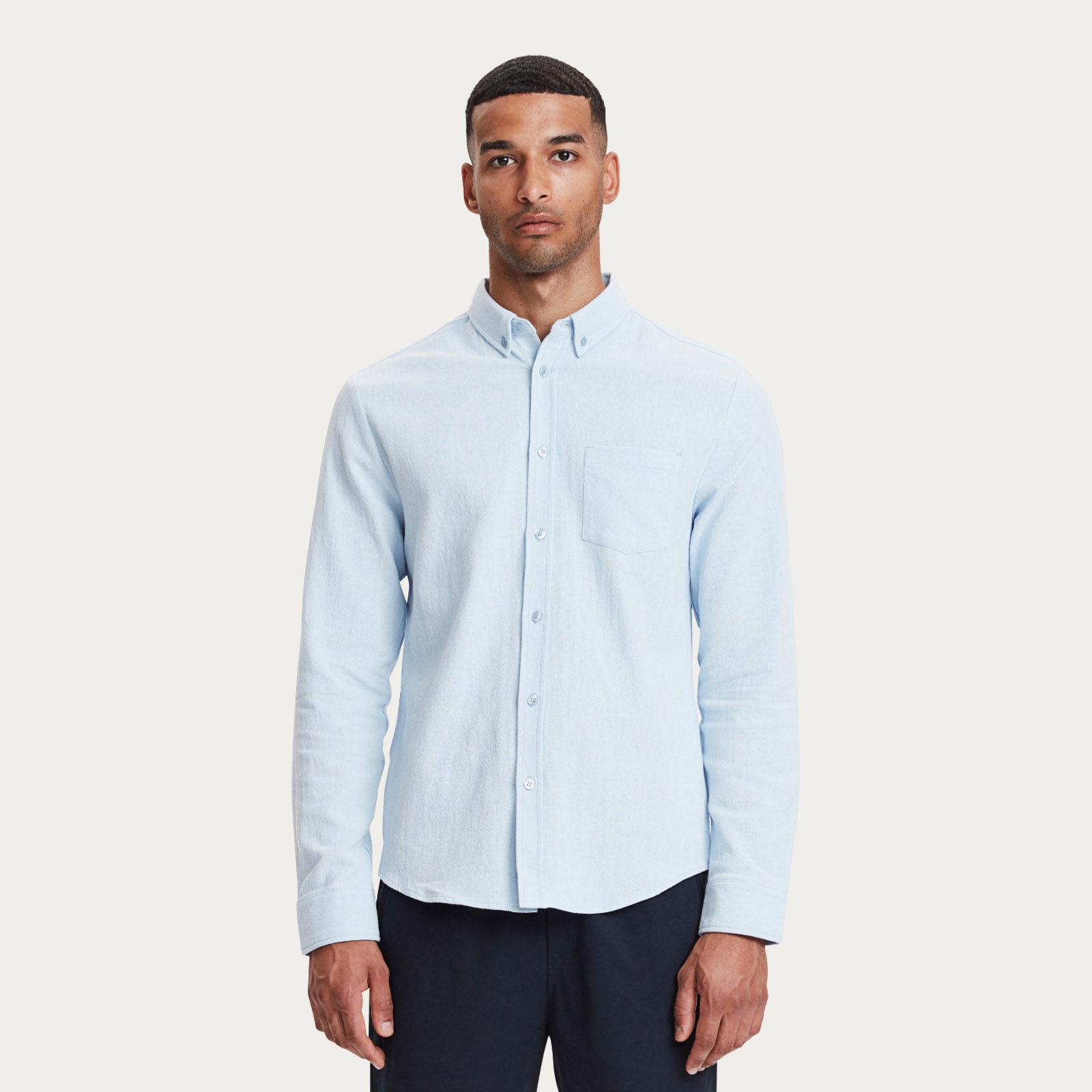Light Blue Lagos Shirt | Bombinate