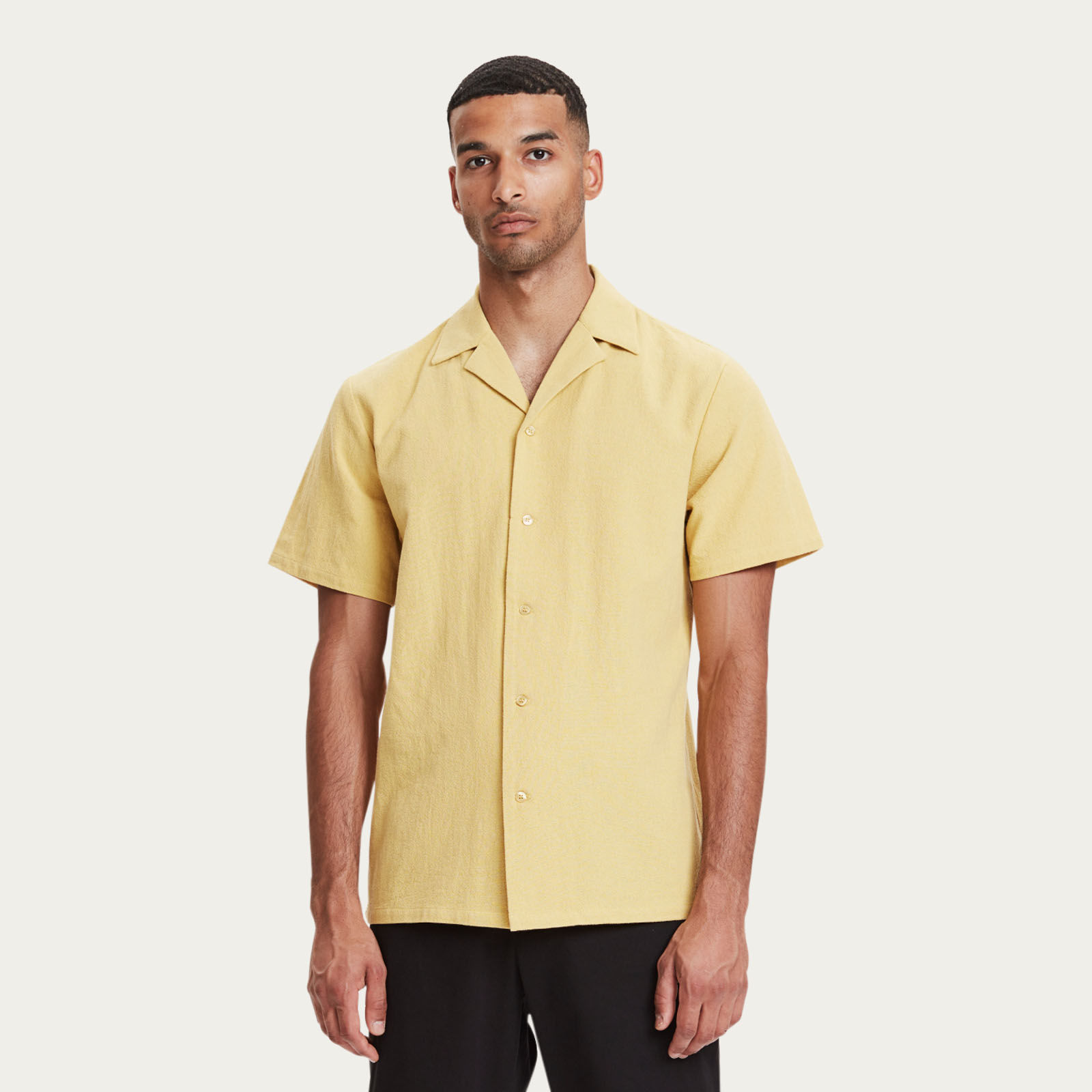 Yellow Clark Shirt | Bombinate