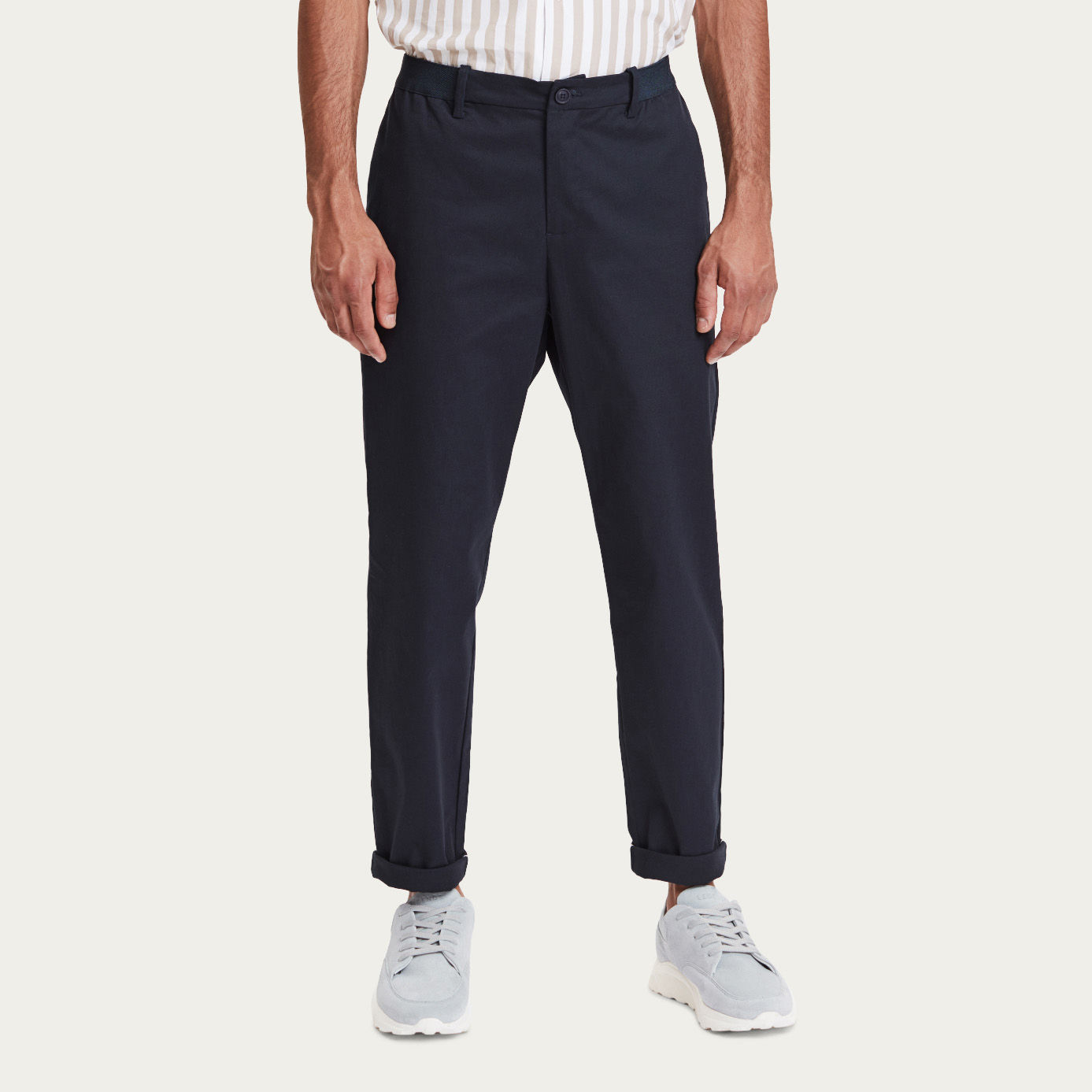 Navy Century Trousers | Bombinate