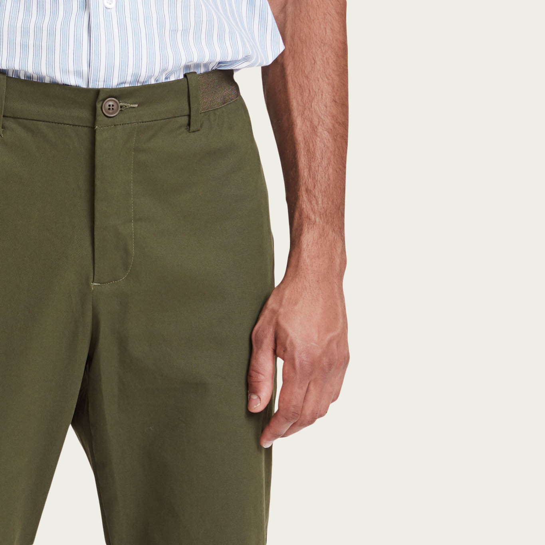 Olive Century Trousers   Bombinate