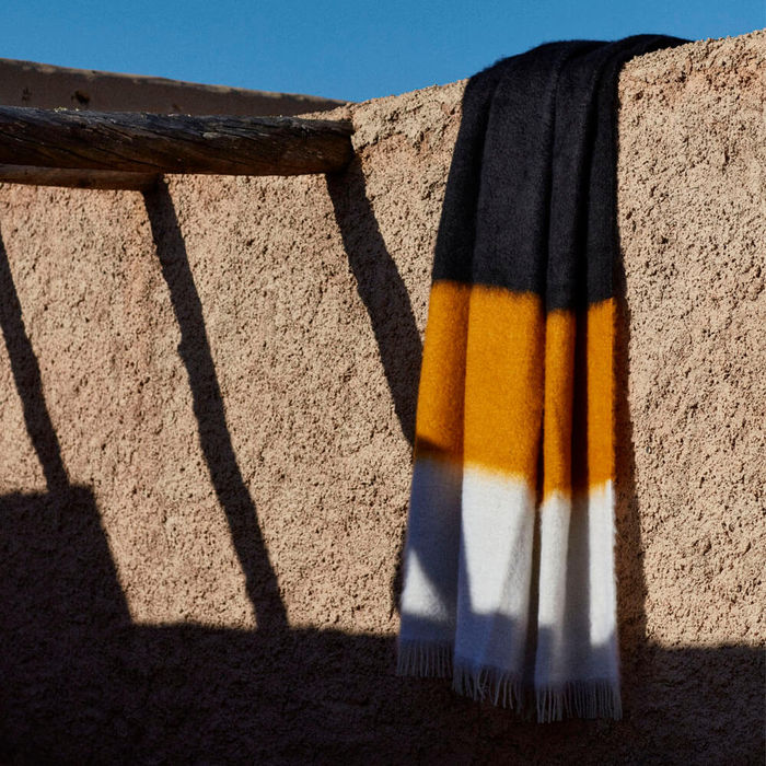 Mohair Blanket V47 | Bombinate