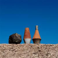 Gres Vase V57   Bombinate