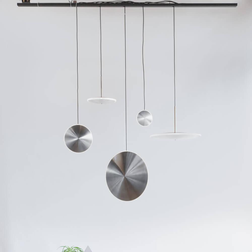 Steel Chrona Dish17V Pendant | Bombinate