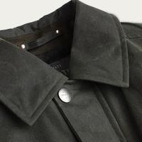 Olive Wax Jacket  | Bombinate